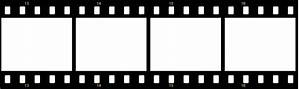 free filmstrip template clipart best With film strip picture template
