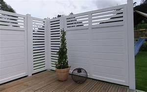 design sichtschutz auf terrasse With terrasse zaun kunststoff