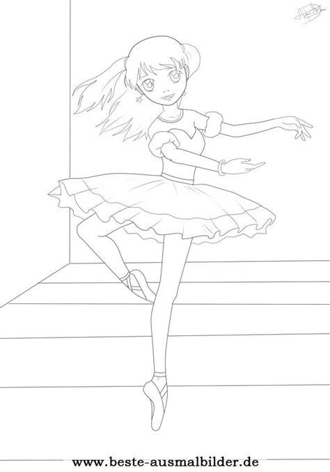 ballerina malvorlage kostenlose ballerina und freizeit