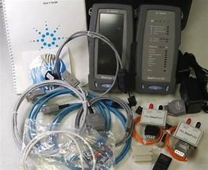 Agilent Wirescope 350 Cat5e Cat6 Fiber Cable Certifier