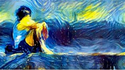 Van Gogh Filter Into Dream Turn Impressionist
