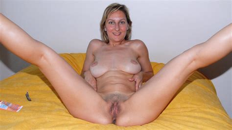 In Gallery Spread Eagle Mature Wide Open Pussy