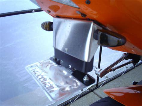 fliphide license plate kit   brand  sportbikesnet