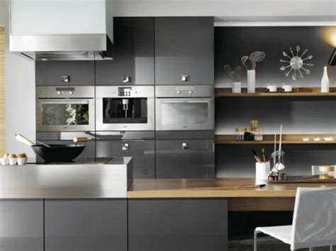 id peinture cuisine grise idee deco cuisine grise kirafes