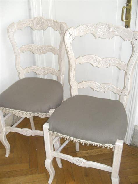 refaire une chaise la métamorphose de 3 chaises en paille zôdio