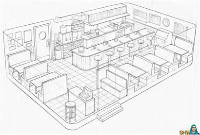 Concept Linework Nightlife Drawing Drawings Line Sims