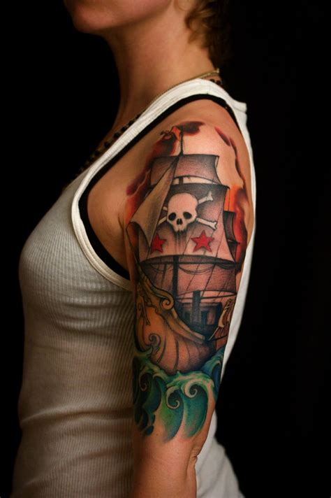 "Baby Dragon Year Inspiration ""pirate Ships Tattoos"""