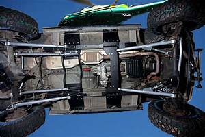 Undercarriage Of Jeep Grand Cherokee