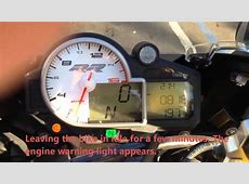 2013 bmw s1000rr electricalcomputer problem YouTube