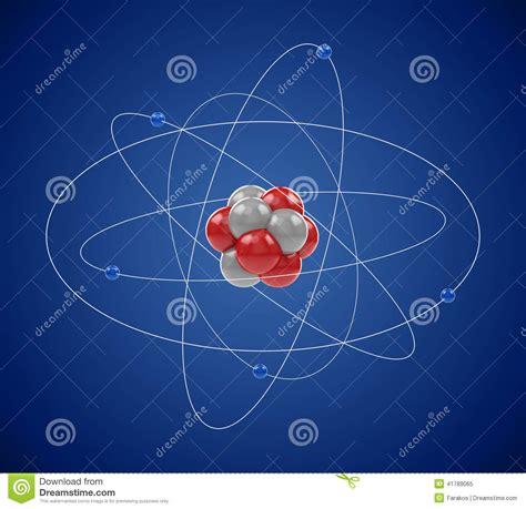Planetary Model Of Atom Stock Illustration - Image: 41789065