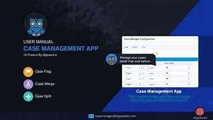 User Manual Guide  Case Management App On Salesforce