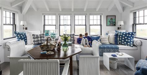 Nantucket Home Palette by A Colorful Nantucket House Nelson Interior