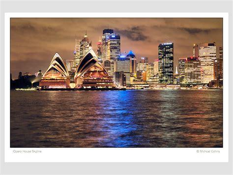 sydney opera house skyline photography wall art vr shop art