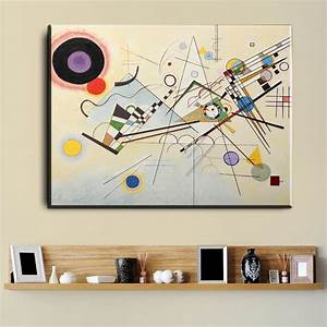 xdr595 Wassily Kandinsky Oil Painting Classic Art Wall ...