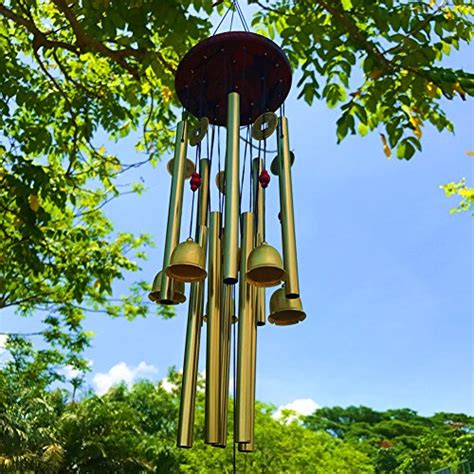 large wind chimes outdoor wind chimes garden  tubes