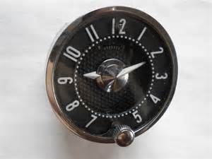 1955 1956 chevrolet or 1958 1962 corvette clock serviced and working with a 30 day guarantee