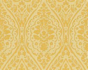 wallpaper yellow gold ornament tessuto 96195 1 With markise balkon mit ornament tapete