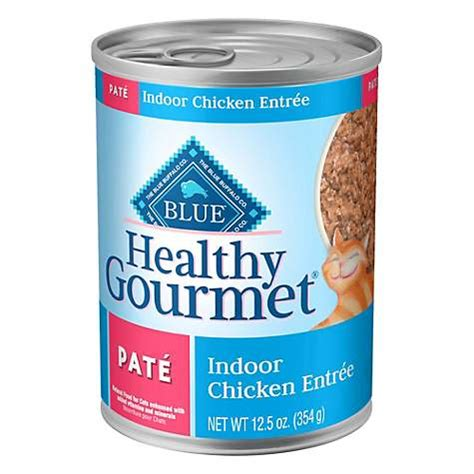 blue buffalo blue healthy gourmet pate indoor chicken