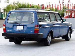 1985 Volvo 245 Dl Wagon For Sale