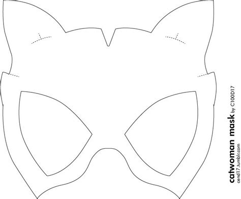 diy catwoman mask  didnt find  easy mask