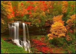 Image result for images of waterfalls between mountains
