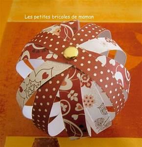Boule En Papier : no l 2012 1 boules de no l en papier mesbidouilles81 ~ Teatrodelosmanantiales.com Idées de Décoration