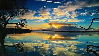 Peaceful Nature Water Wallpapers Sunrise Weneedfun Comfort