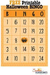 free printables bingo