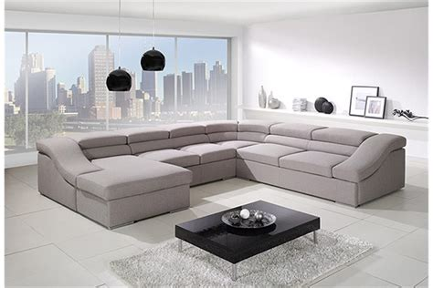 canapé en u design canapé panoramique convertible vi design