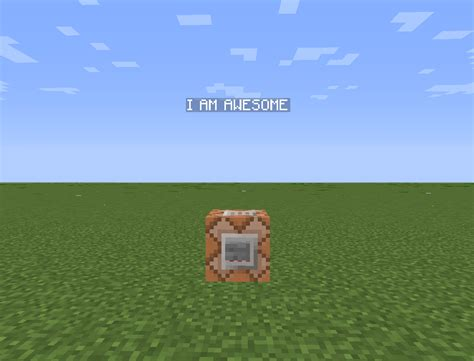 minecraft text floating command horses invisible armor minecraftforum technique commands need redstone blocks horse discussion stands