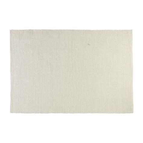 gilmore tapis tiss 233 plat 120x180cm en coton beige habitat