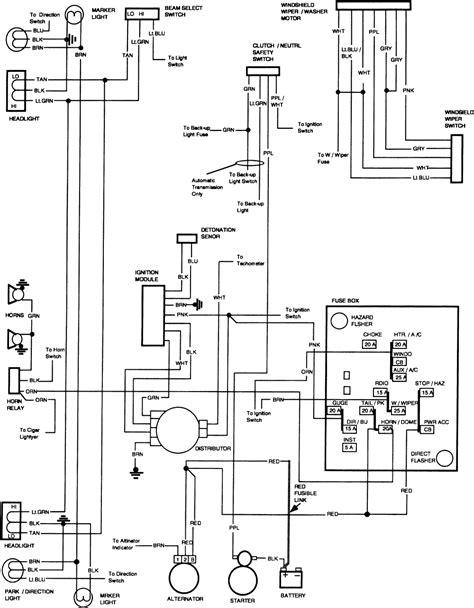 Free Auto Wiring Diagram Gmc Truck Engine