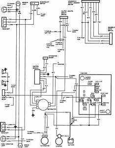 Free Auto Wiring Diagram  1982 Gmc Truck Engine Compartment Wiring Diagram