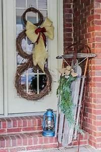 Rustic porch idea for the cabin