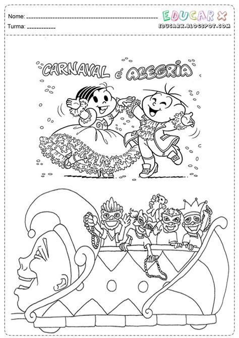 Dicas e Fazer passo a passo: Desenhos de carnaval para colorir
