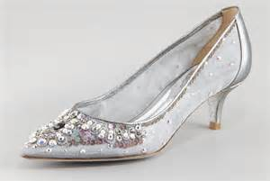 beautiful wedding shoes beautiful wedding shoes for brides silver with kitten heel onewed