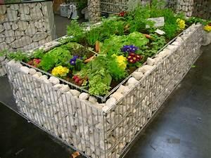 Hochbeet Im Garten : gabionen hochbeet steine im garten shop ~ Lizthompson.info Haus und Dekorationen