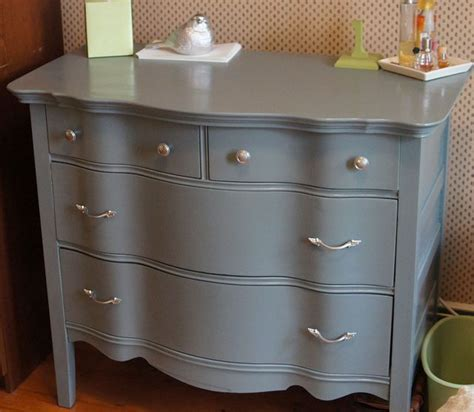 finally done updating this style dresser paint