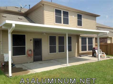 aluminum patio cover in hoa in baytown 187 a 1