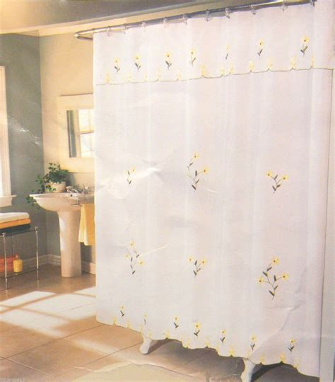 swag shower curtain attached valance window