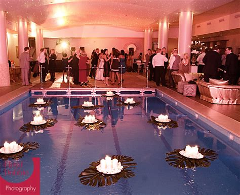 swimming pool wedding decorations ideas home constructions