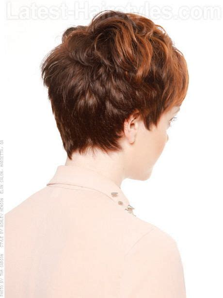 back view of pixie haircuts 17 best ideas about pixie back view on 2879