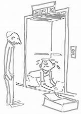 Elevator Coloring Pages Elevator2 sketch template