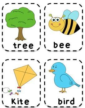 spring time esl flashcards  images  fun