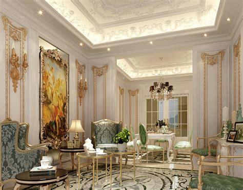 Luxury Interior Design : Luxury Living Rooms Ceiling Classic