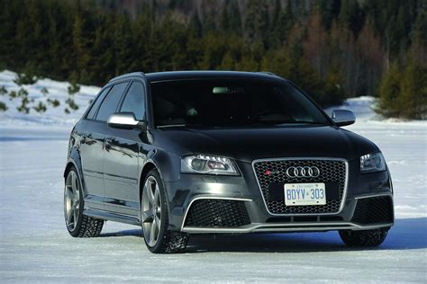 Video New Audi Rs3 Sportback Drifts Its Way On The Snow