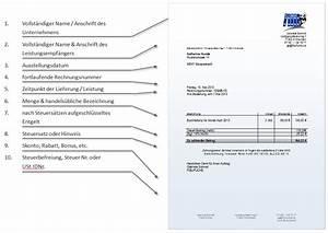 Rechnung Pflichtangaben : rechnungsanforderungen und alle pflichtangaben f r selbstst ndige fibufuchs ~ Themetempest.com Abrechnung