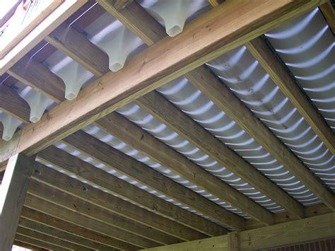 Under Deck Drain System  Deck Design And Ideas