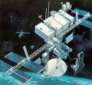 Dual Keel Space Station - 1985