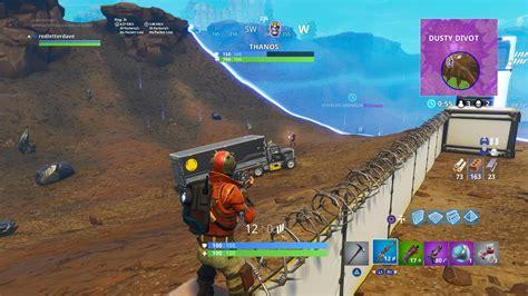 final duel thanos killed   fortnites  game